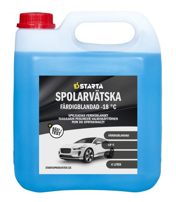 1045255 STARTA Spolarvätska Färdigblandad 4 lit